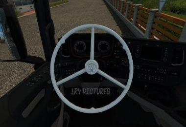 Vabis Steering Wheel for Scania R&S 1.30.x