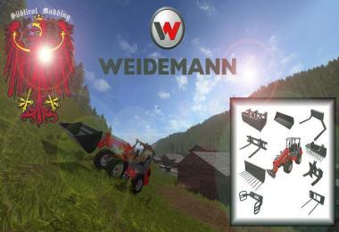 Weidemann 1770 GX50 (front loader) v1.1