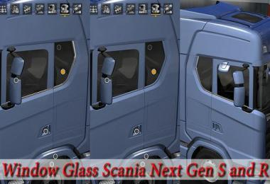 Window glass Scania Next Gen R & S 1.30.x