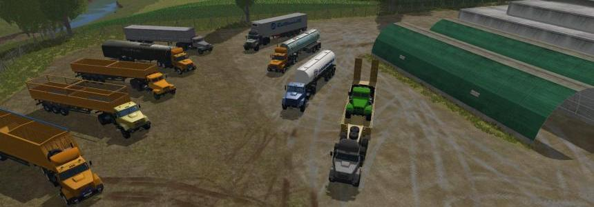Pack Semi trailers + KraZ v1.3
