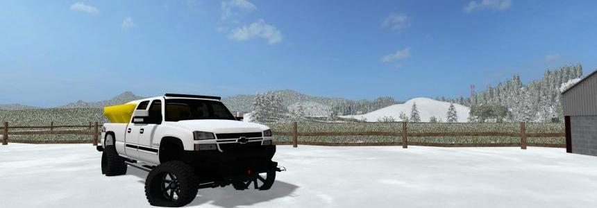 Chevy Silverado Plow Truck v1.0