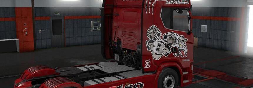 Scania Next Gen S Laguardia Skin