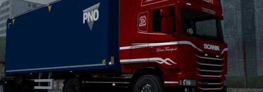 Scania Drent Transport Skin 1.30