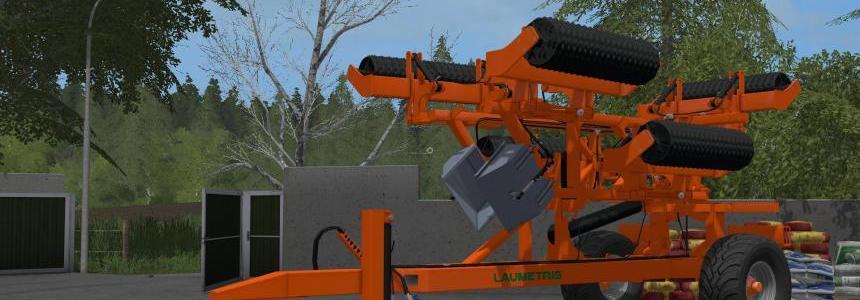 Laumetris Compaction Rollers TVL-10 v1.0