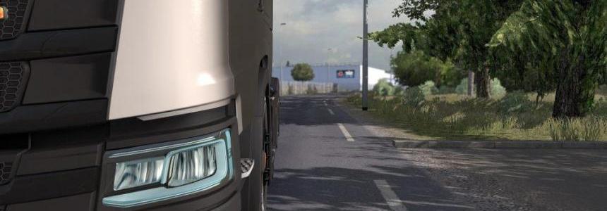 Blue Xenon lights for Scania NXTGN