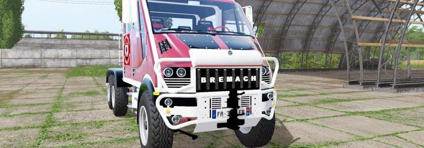 Bremach T-Rex Double Cab marins-pompiers v1.0