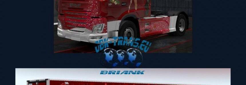 [BrianK] JBK Christmas Combo DAF E6 + Lamberet v1.0