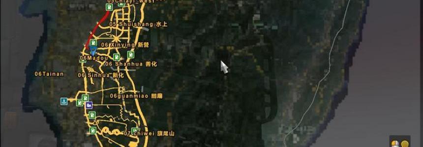 C.H. Map (Taiwan) 026a
