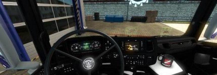 Carbon White Scania 2016 Interior v1.0