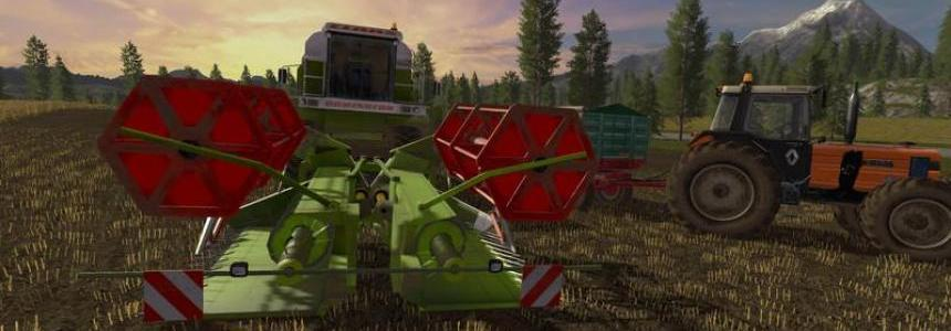 Claas C540 folding cutter v1.0