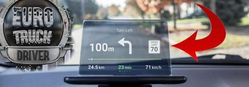 Cute Trucks GPS Navigation on Glass