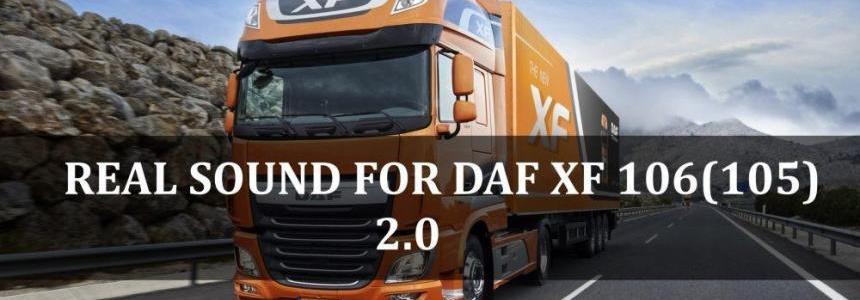 Daf XF Euro 6 Real Sound v1.0