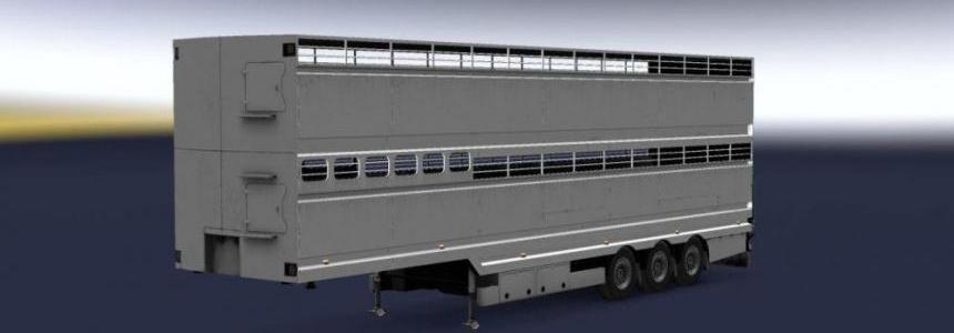 Empty Livestock (Cow) Trailer Support 1.30.x