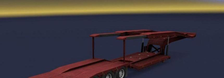 Empty Van Transporter Trailer v1.0