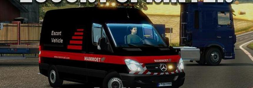 Escort MB Sprinter DLC Special Transport v1.5