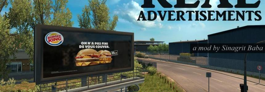 ETS 2 - Real Advertisements 1.30