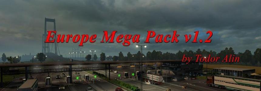 Europe Mega Pack v1.2 [1.30.x]