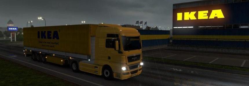 European Real Company Freight Yard v1.0