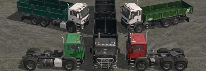 [FBM Team] MAN AgroTruck-Pack Umbau v1.0.0