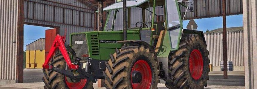 Fendt Favorit 600 LSA (611, 612, 615) v1.2.0