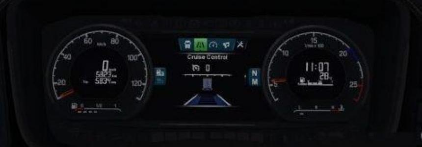 Fix George's Radio Dashboard Scania S & R 2016 v1.0