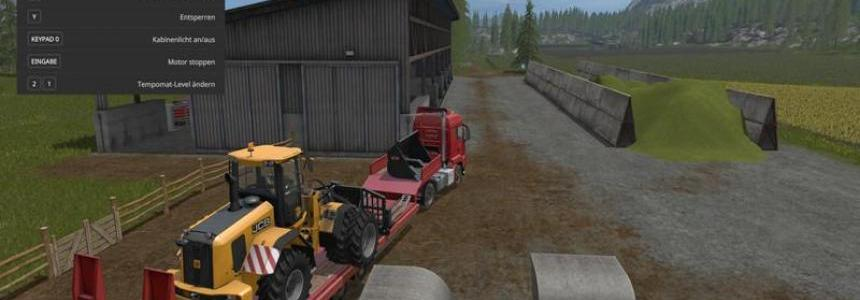 Fliegl low loader Objectattache v1.0