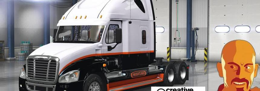 FREIGHTLINER CASCADIA ETS2 1.28 - 1.30.x