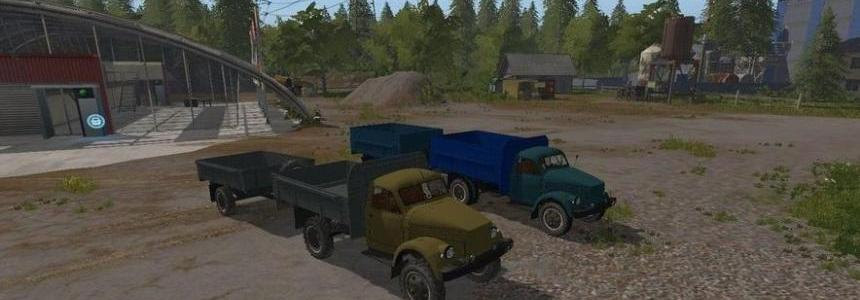 GAZ 51/63 and trailers v1.0