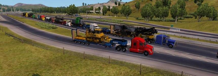 Heavy Cargo Pack ETS2 for ATS 1.29.x