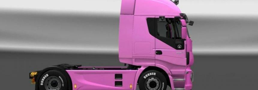 Iveco Hi-Way Skin Girl A v1.0