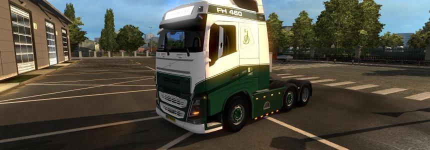 Jan Deckers Pack - Volvo FH & Trailer 1.30
