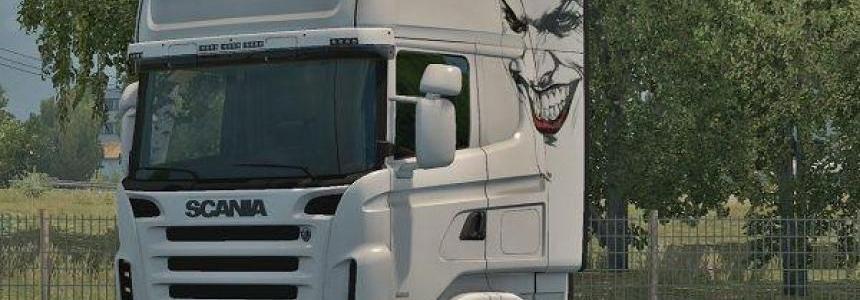 Joker skin Scania RJL v1.0