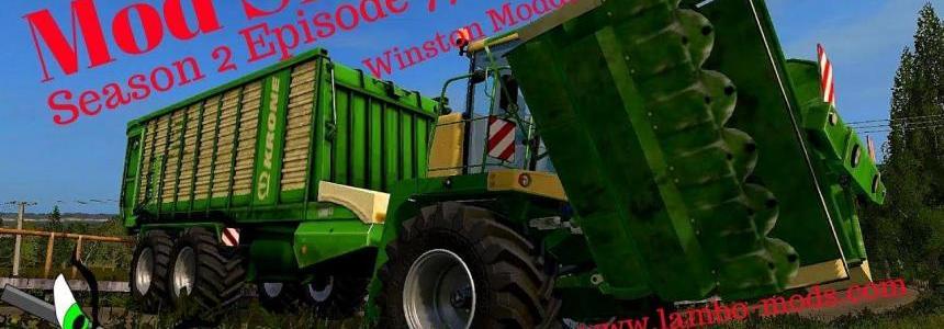 Krone Big L-500 Pro Mower v1.0