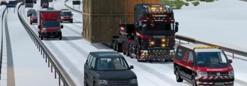 Mammoet RJL Scania R Skin