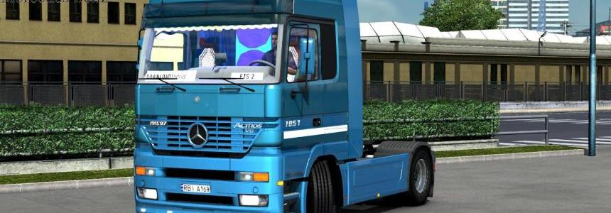 Mercedes Actros MP1 + Interior (Update by KrewlexDesings) [1.30.x]