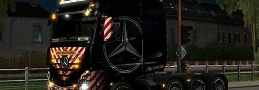 Mercedes MP4 8x4 Chasis Heavy Loads Skin