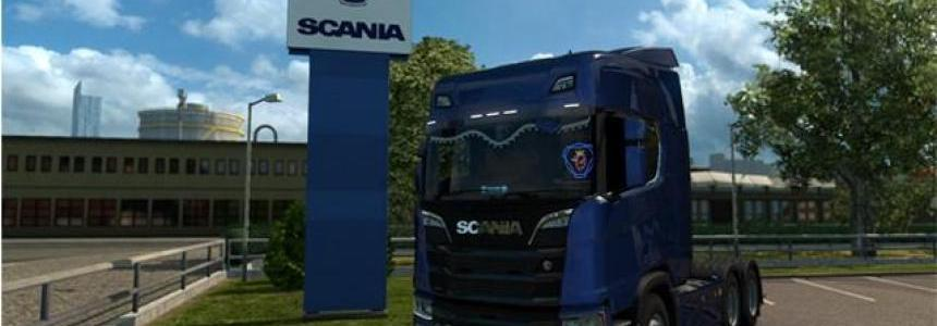 Mighty Griffin Scania R & S 2016 TMP v1.0