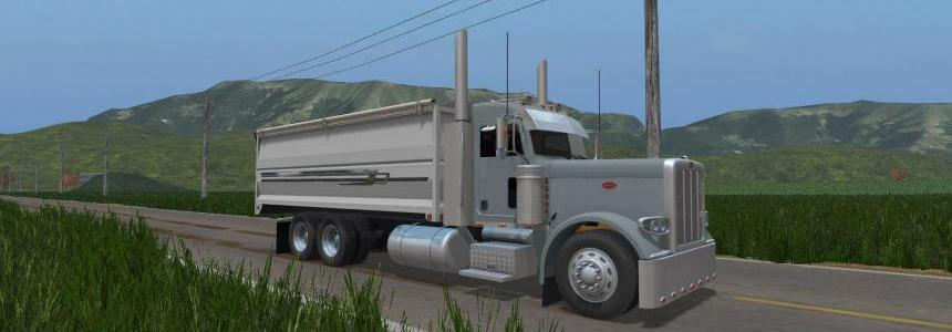 Modified Peterbilt 389 grain truck v1.0