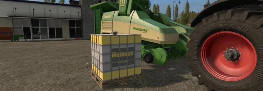Molasses tank for Premos 5000 v1.1