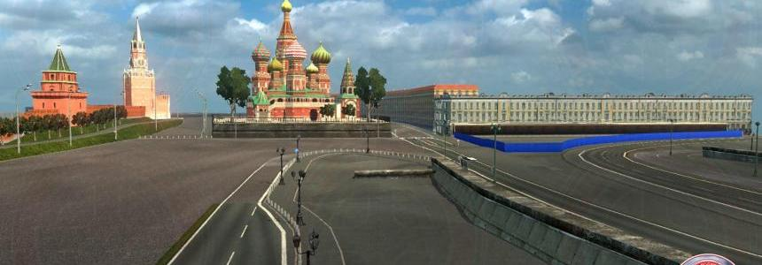 Moscow In Russia Map 1.30