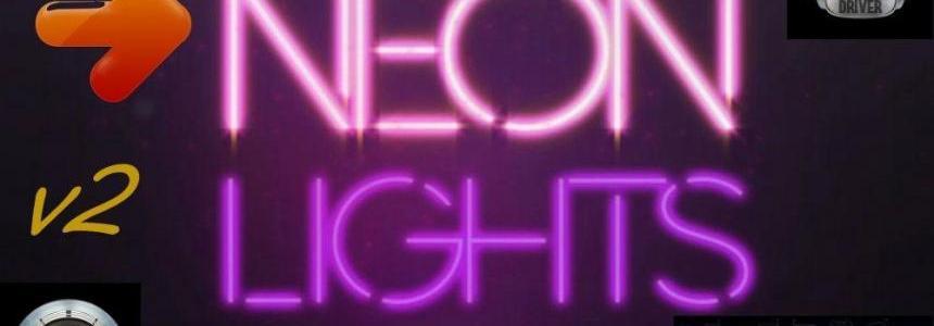 Neon lights for all SCS Trucks v2.0