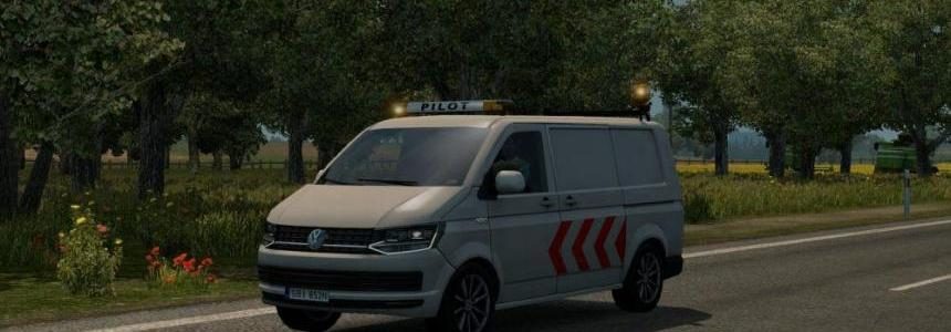 New escort vehicles (DLC: Special Transport) v1.0