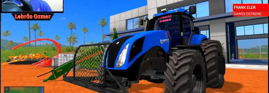 NEW HOLLAND T8 Brasil v3.6