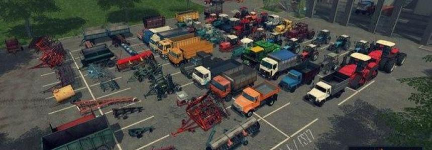 New YEAR MOD PACK (RUS) v1.0
