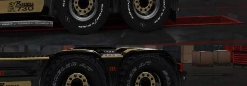 Offroad tires for all truck