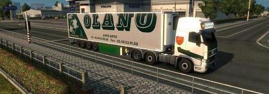 Pack Olano Remorque + camions + Lightbox v1.0