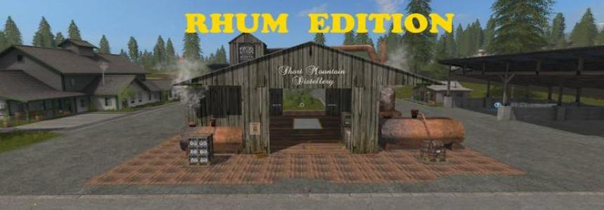 Placeable Whiskey Factory RHUM Edition v1.0