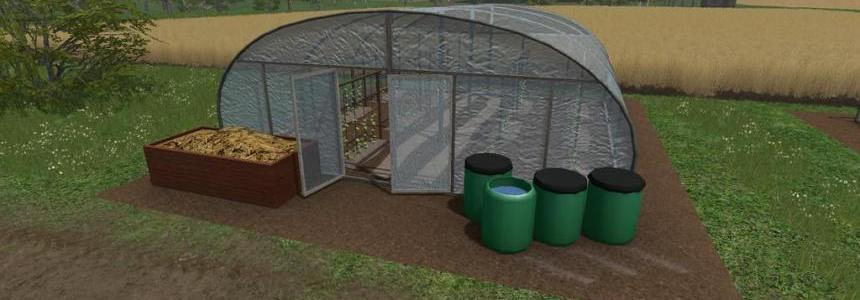 Plasticfoil Greenhouse (Cucumber) v1.0