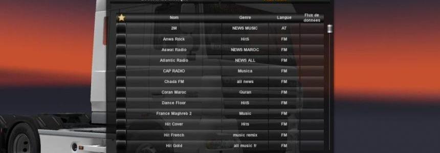 Radio Morocco 100proc for ETS2 v1.0