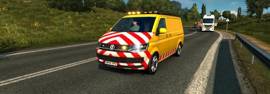 Real logo for Volkswagen Escort Van